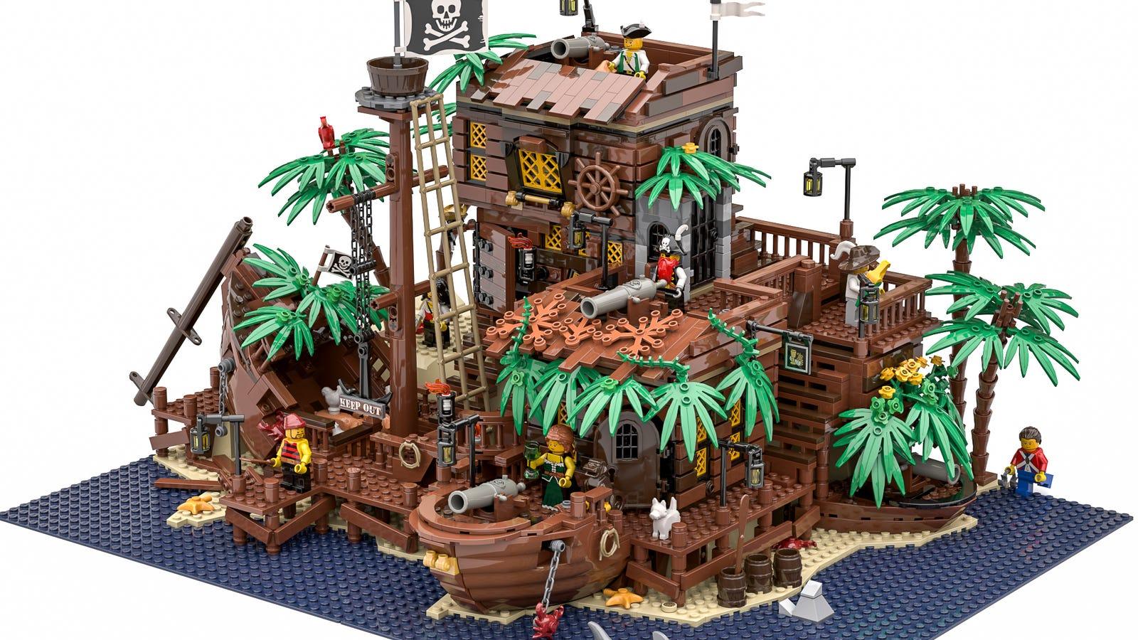 Please Lego Make This Pirate Island