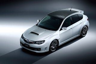 Illustration for article titled JDM Subaru WRX STI Carbon Messes With A Good Thing