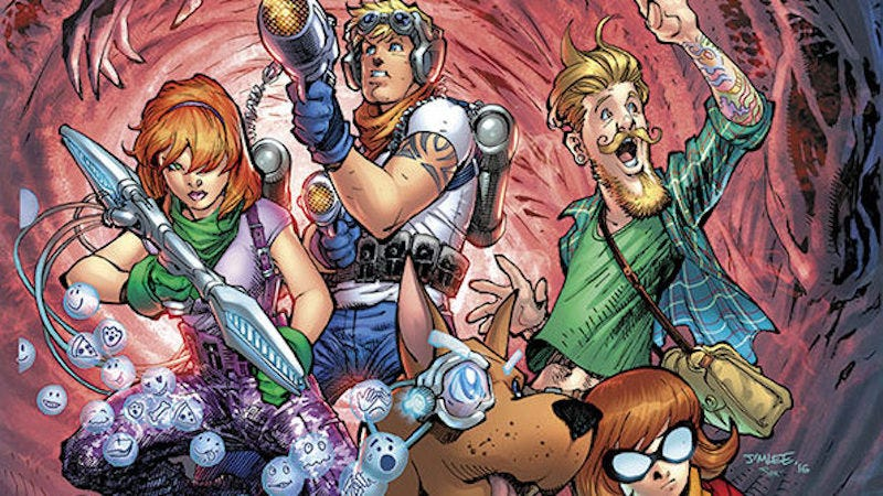 Illustration for article titled What The Heck Is DC Comics Doing to Scooby-Doo?