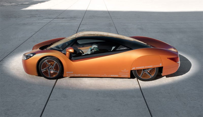 Illustration for article titled This Electric Car (Concept) Is Controlled by an iPhone