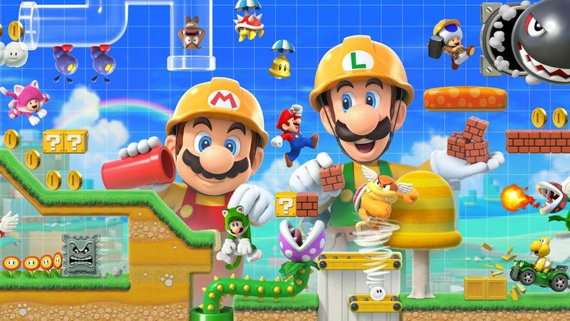 Illustration for article titled Make Amongst Yourselves - Share Your Super Mario Maker 2 Creations!