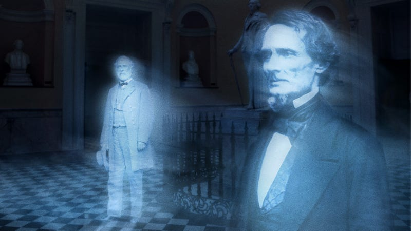 Illustration for article titled Virginia Agrees To Remove Confederate Ghosts From State Capitol