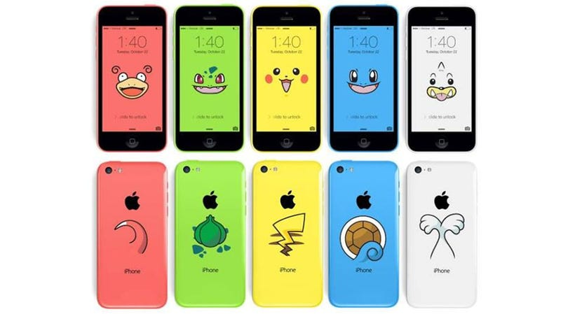 Illustration for article titled It's Like The iPhone 5c Was Meant To Be Pokémon