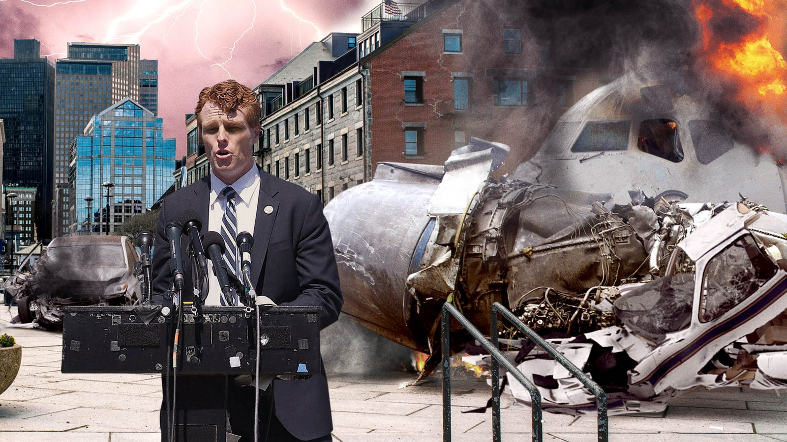 Ο Τζο Κένεντι, Αποφεύγει Να Ρίχνουν Αεροπλάνα, Να Βγει Εκτός Δρόμου Αυτοκίνητα Μετά Την Αναγγελία Της Εκστρατεία Για Τη Γερουσία