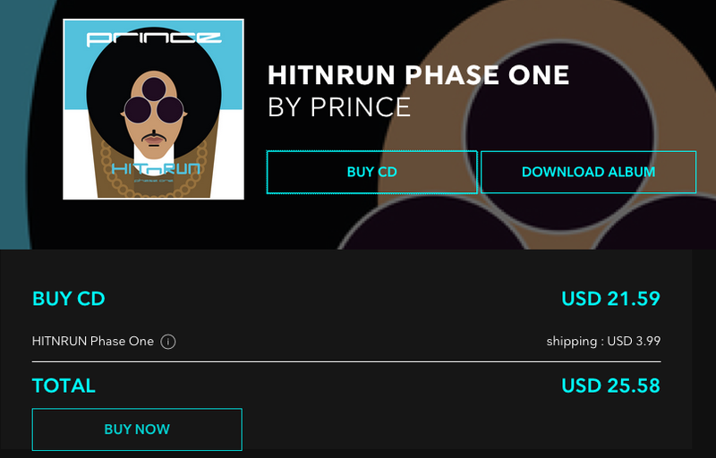 Illustration for article titled Tidal's New Strategy Is Selling Overpriced Prince CDs