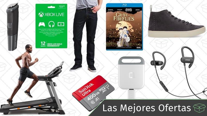 Illustration for article titled Las mejores ofertas de este miércoles: Tarjetas microSD, rebajas en Levi's, auriculares inalámbricos y más