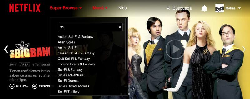 Illustration for article titled Super Browse, la extensión que destapa cientos de categorías ocultas en el buscador de Netflix