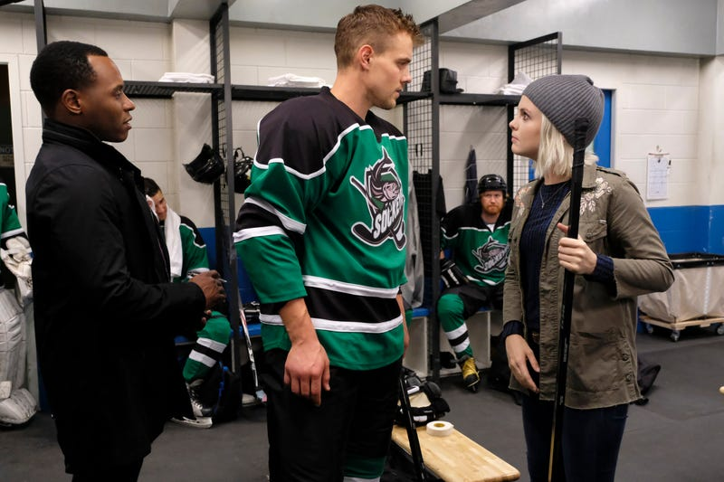 Malcolm Goodwin, hockey guy, Rose McIver