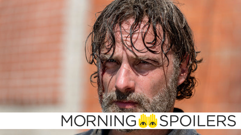 Poor miserable Rick Grimes will probably be a little less miserable (for a brief time) in Walking Dead's season finale.