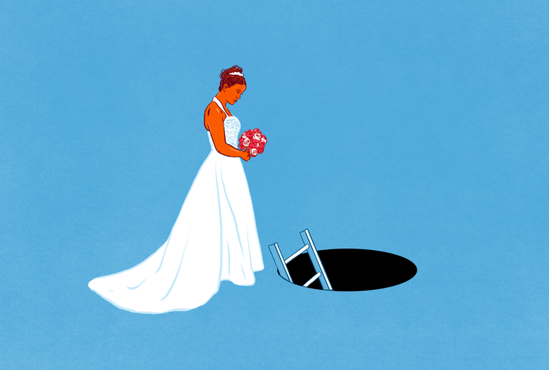 Illustration for article titled Would You Hesitate to Marry a Person Who Was Super Deep in Debt?