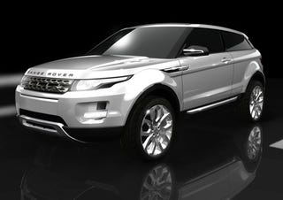 "Illustration for article titled Land Rover Unveils, Confirms Two-Door Range Rover ""LRX"""