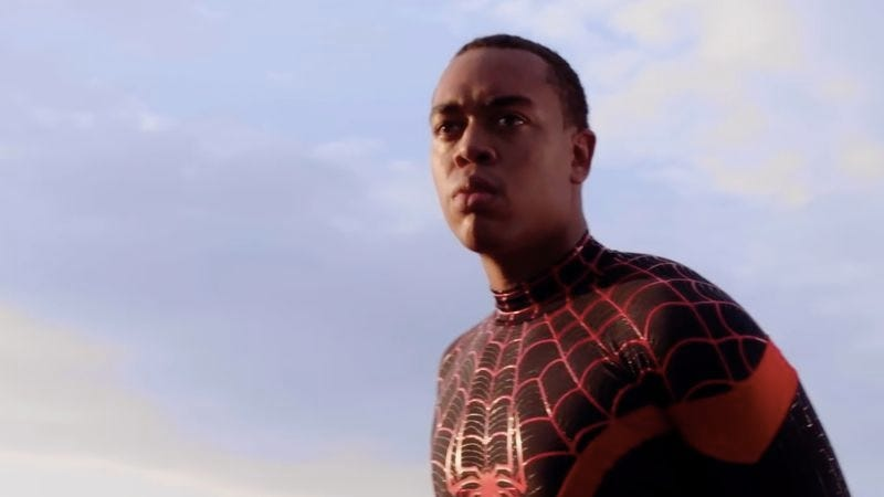 Illustration for article titled This fan-made Miles Morales short film will make you wish he was the new Spider-Man