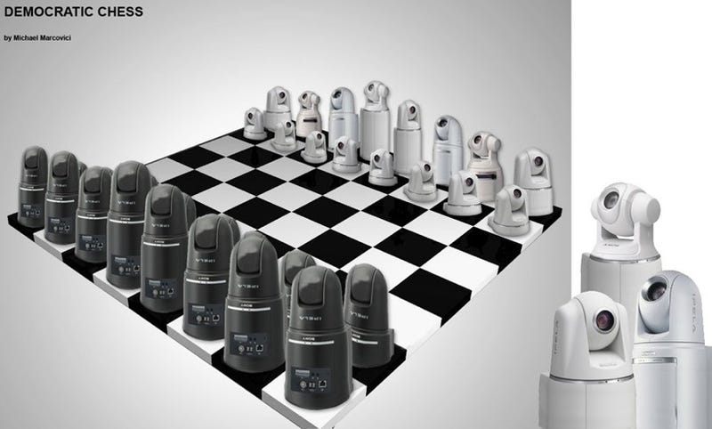 Illustration for article titled Democratic Chess Set Is Cripplingly Bureaucratic