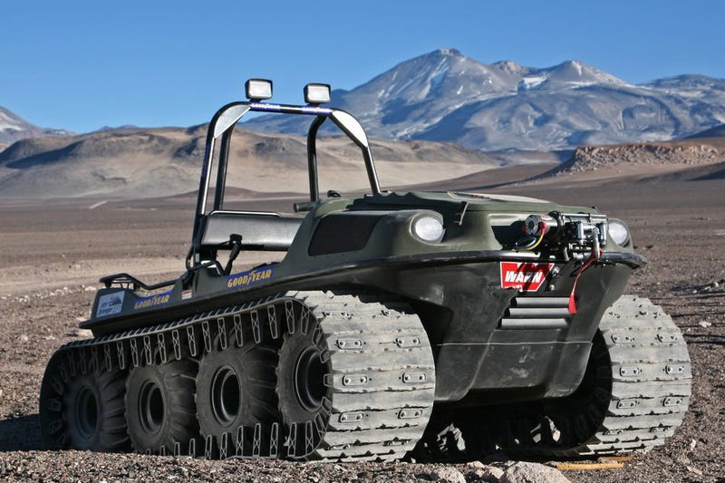 Illustration for article titled Adventure Tested: Argo 8x8 ATV