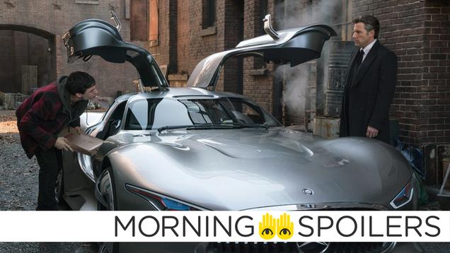 The Flash Set Pictures Tease a New Ride for Ben Affleck s Batman