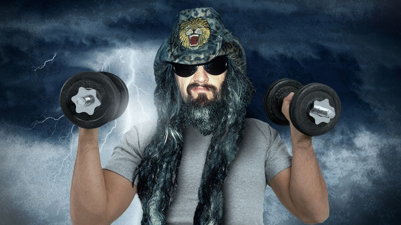 Rob Zombie is Never Gonna Stop getting in shape (Graphic: Nick Wanserski)