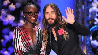 Illustration for article titled Ugh, I'm So Sorry: Lupita Nyong'o & Jared Leto Possibly Dating