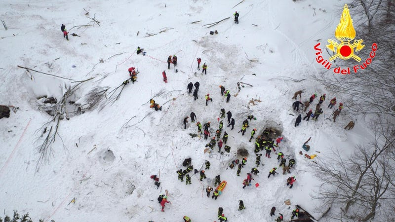 8 found alive in Italy hotel hit by avalanche