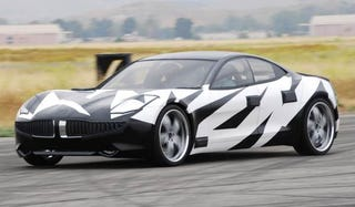 Illustration for article titled Fisker Karma Hybrid Testing In Southern California