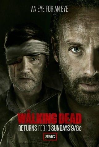 Illustration for article titled Walking Dead poster