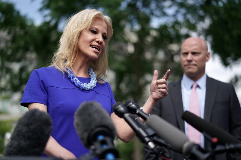 Illustration for article titled Government Watchdog Wants Kellyanne Conway Fired, but Conway Wants That Smoke: 'Let Me Know When the Jail Sentence Starts'