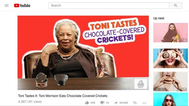 Toni Morrison Youtube.