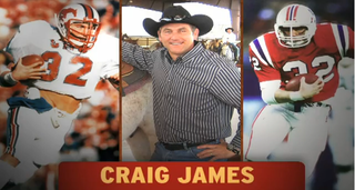 """Illustration for article titled Football Hero Craig James And His """"God-Given Talents"""" Will Apparently Run For U.S. Senate"""