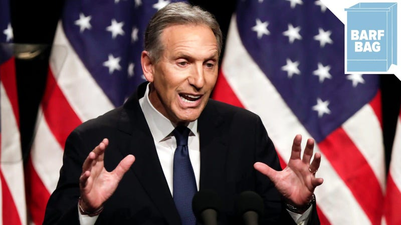 Illustration for article titled Howard Shultz Is Not Running for President But He Absolutely Would Have Won, I Just Know It
