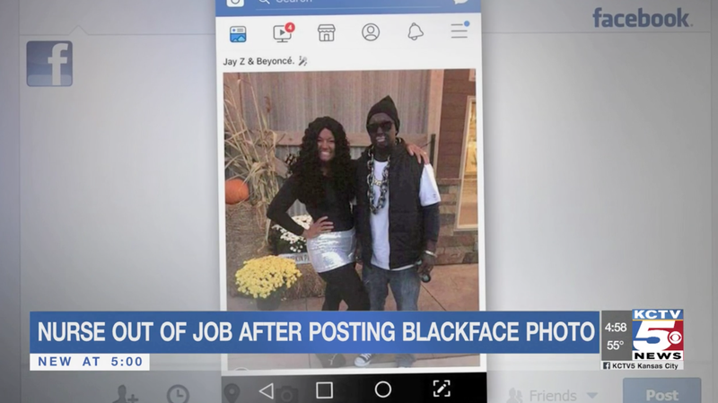 Illustration for article titled Missouri Nurse Fired for Blackface 'Beyoncé' Costume