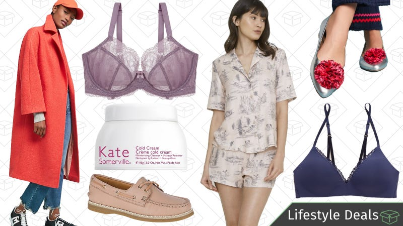 Illustration for article titled Friday's Best Lifestyle Deals: Journelle, Sperry, Anthropologie, Kate Somerville, and More