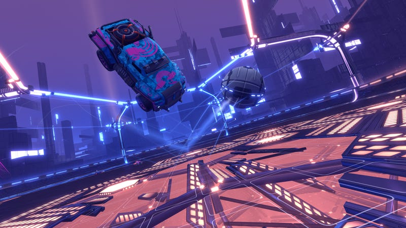 Illustration for article titled Players Dig Their Own Goal In Rocket League's Dropshot Mode