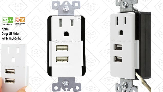 Upgrade Your House With USB Power Receptacles For the Lowest Prices Ever