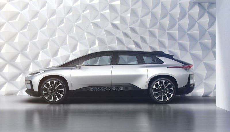 Illustration for article titled Faraday Future Has A Long Way To Go To Prove It's Not Bullshit