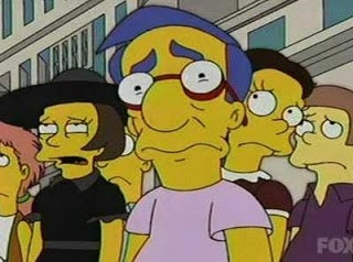 Illustration for article titled Milhouse is my spirit animal.