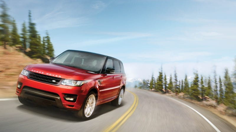 Illustration for article titled Land Rover Unveils Marketing Campaign To Launch All-New 2014 Range Rover Sport