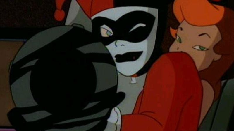 """Illustration for article titled Batman: The Animated Series: """"The Mechanic""""/""""Harley And Ivy"""""""