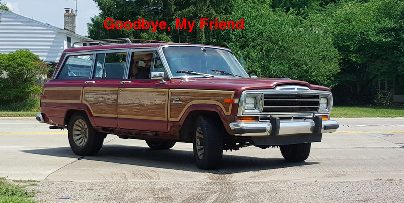 Illustration for article titled My $800 Jeep Grand Wagoneer is Gone and I'm Definitely Not Crying