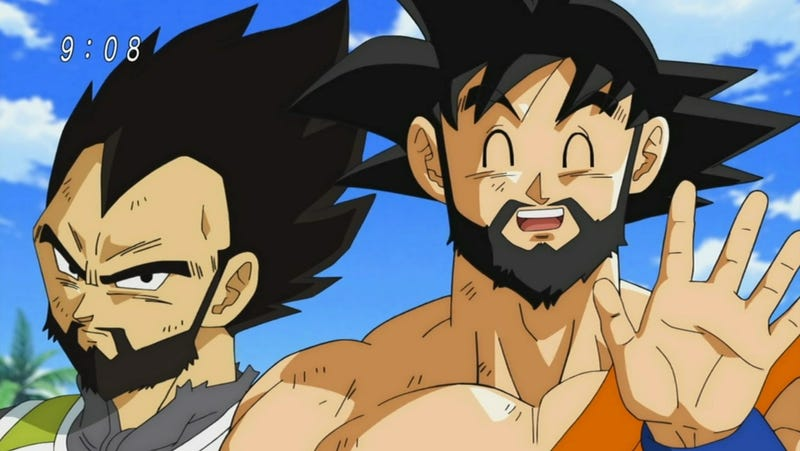 Illustration for article titled Beards Make Dragon Ball Characters Sexy, Too