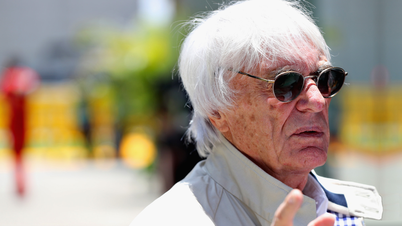 Bernie Ecclestone, above, appearing to be rather lost. Photo credit: Mark Thompson/Getty Images