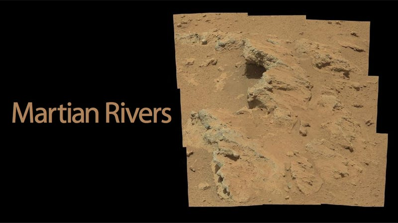 Illustration for article titled Curiosity Has Found a Riverbed on Mars