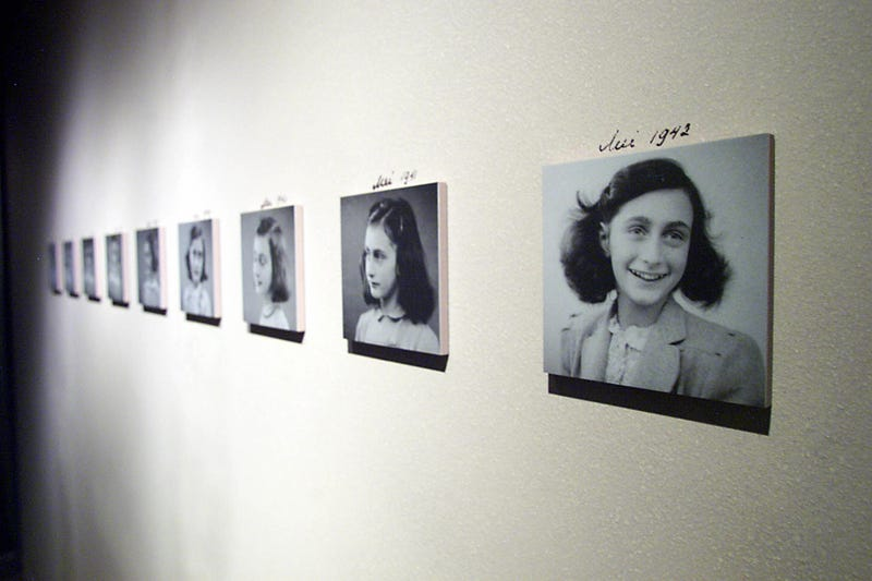 From the Anne Frank exhibit at the U.S. Holocaust Memorial Museum (Photo: Tim Sloan/AFP/Getty Images)