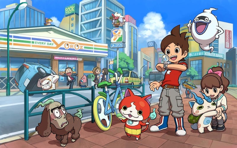 Illustration for article titled Why We Like Yo-Kai Watch So Far