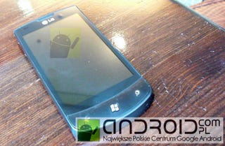 Illustration for article titled LG's E900 Does Windows Phone 7 in HTC Style