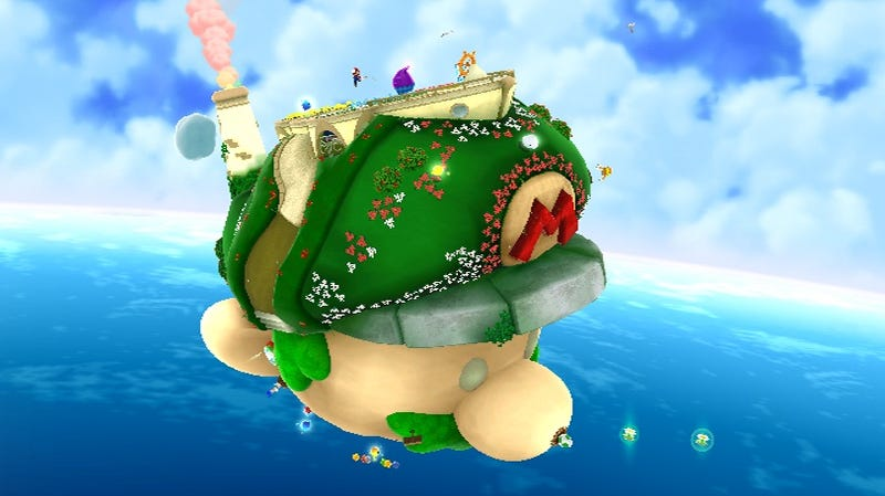 Illustration for article titled Planet Mario And Map Suggest Super Mario Galaxy 2 Secrets