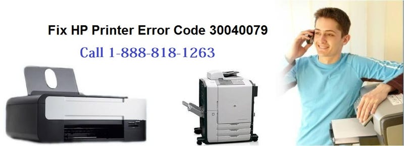 Illustration for article titled How to Fix HP Printer Error Code 30040079?