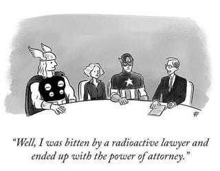 Illustration for article titled For all you Oppos in the legal field...