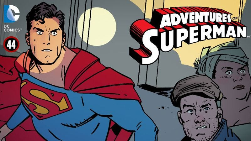 Illustration for article titled Adventures Of Superman makes a case for continuity-free superhero comics