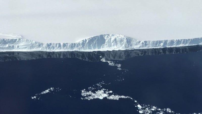 See that massive Antarctic iceberg up close