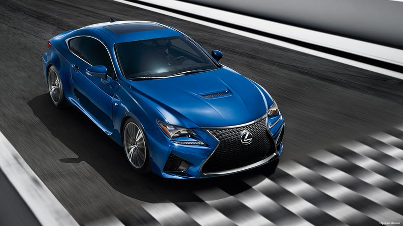 Illustration for article titled Why Would You Get That? 2015 Lexus RC F