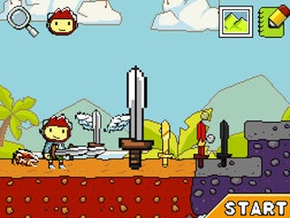 Illustration for article titled Super Scribblenauts And My Lost Wedding Ring